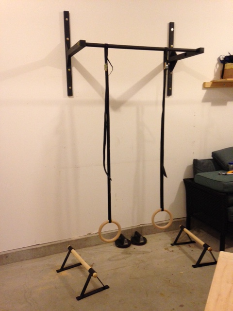 Wall mount pull up bar stud bar ceiling or wall for How to build a wall bar