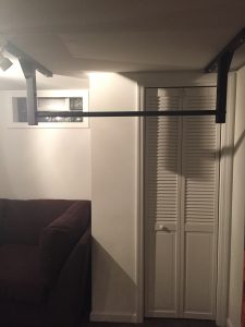 basement pull up bar stud bar ceiling or wall mounted pull up bar