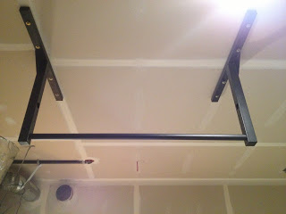 TRX Pull Up Bar From Stud Bar