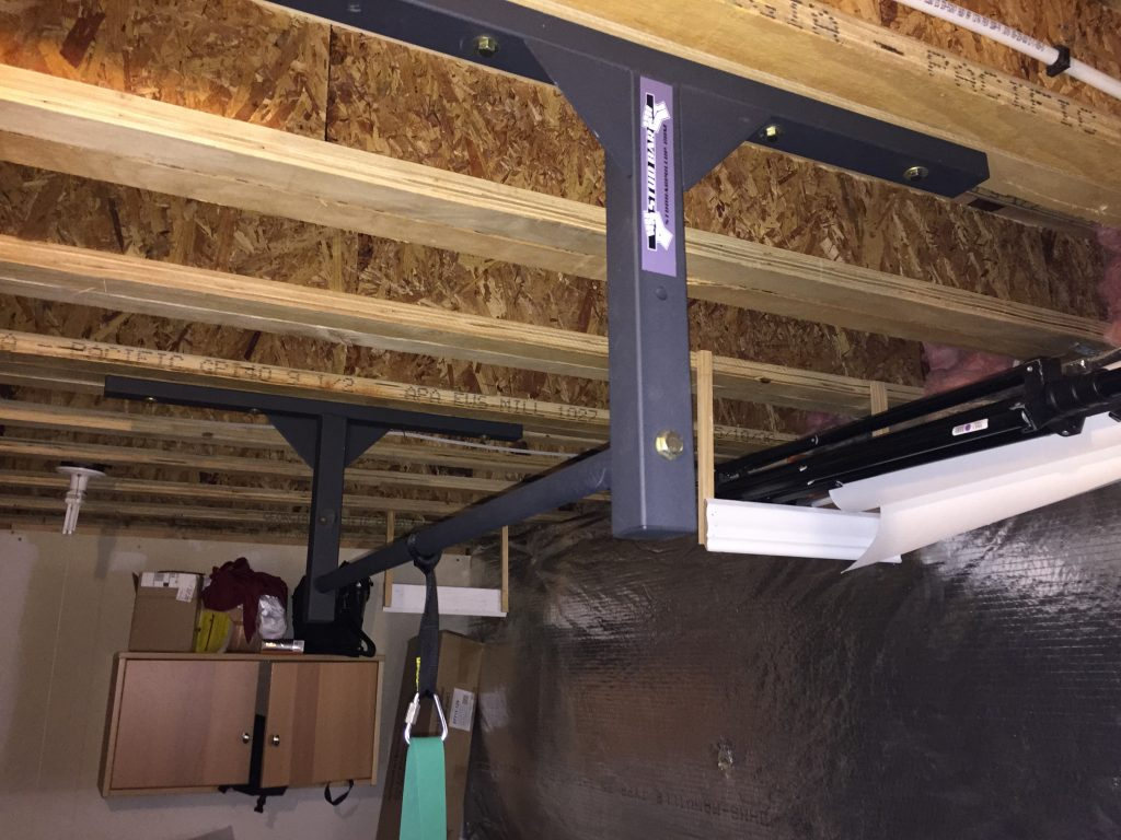 Mounting A Pull Up Bar To Engineered Beams Tji Floor