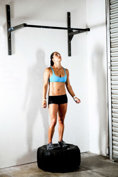 CrossFit Jackie Perez and Wall Mounted StudBar Pullup Bar